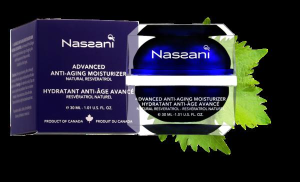 Crema hidratante rostro resveratrol