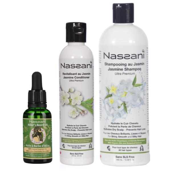 Champú natural con resveratrol