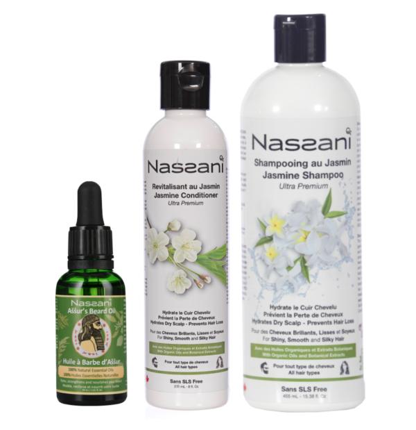 Natural shampoo with resveratrol