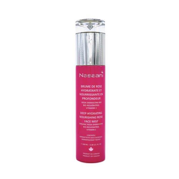 Spray agua de rosa con resveratrol
