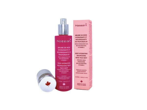 Rose water face mist resveratrol