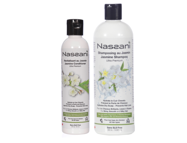 Shampooing & revitalisant with resveratrol NASSANI Canada