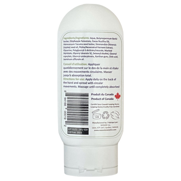 Body & Hands Natural Cream with Bio Resveratrol